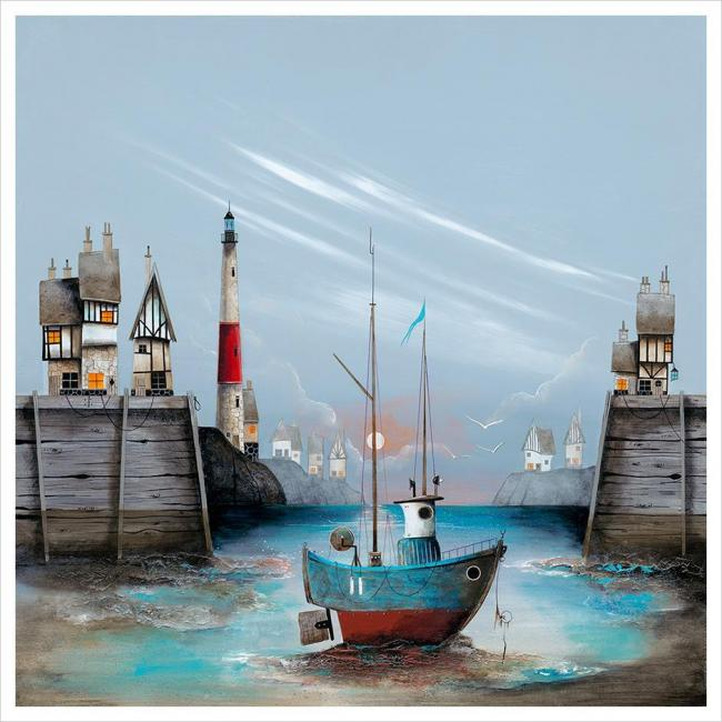 Harbour Rest by Gary Walton