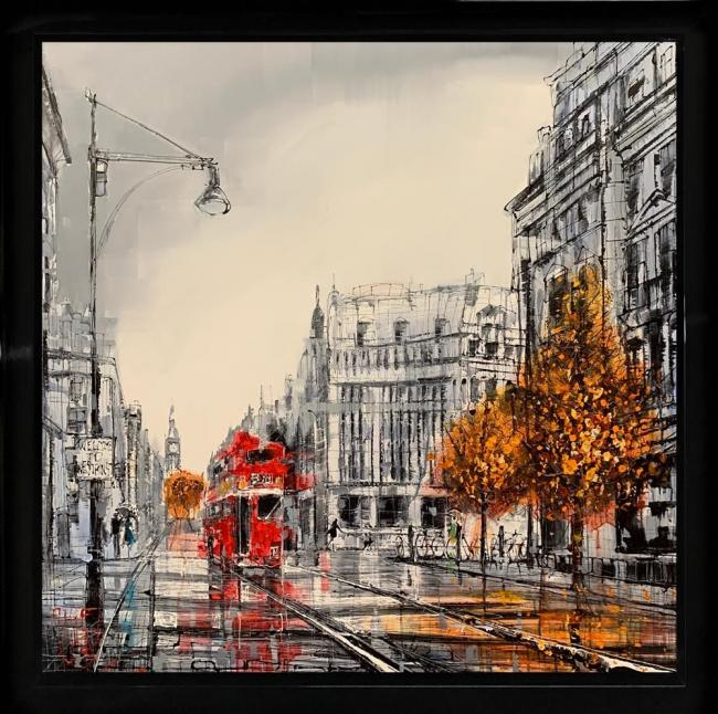 Heading To Westminster by Nigel Cooke