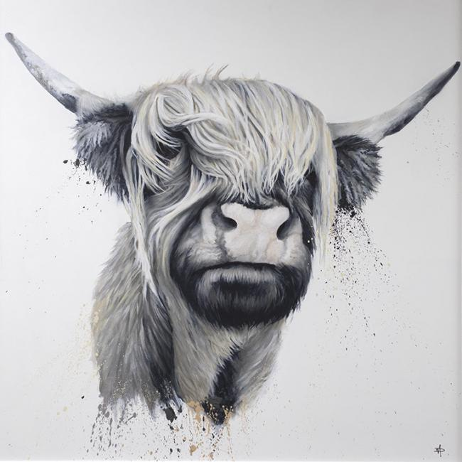 Highland Cow by Dean Martin
