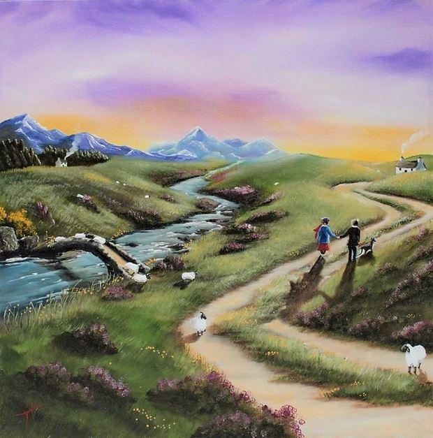 Highland Stroll by Caroline Deighton