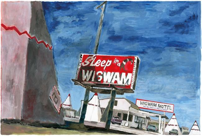 Holbrook Arizona by Bob Dylan
