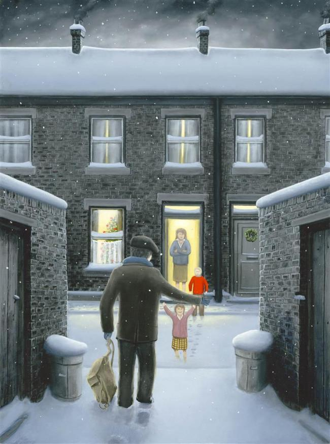 Home for Christmas- Paper by Leigh Lambert