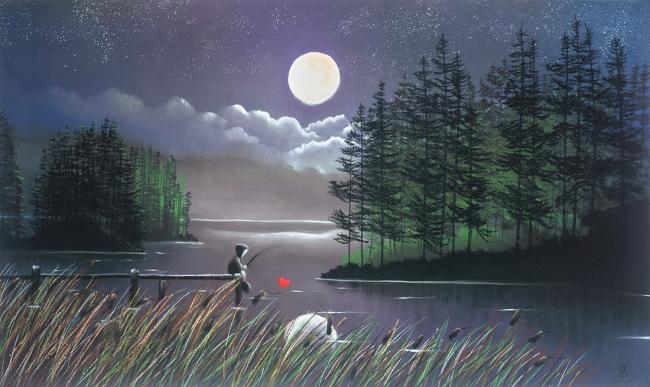 ILL Catch You The Moon by Mackenzie Thorpe