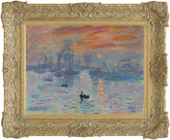 Impression Sunrise by John Myatt