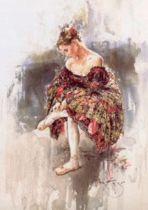 In A Dress From Manon by Gordon King