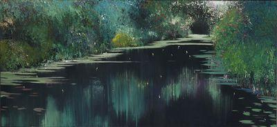 Jade Reflections by Linda Charles