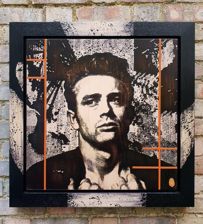 James Dean Noir by Rob Bishop