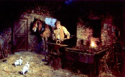 Jimmys Forge by David Shepherd