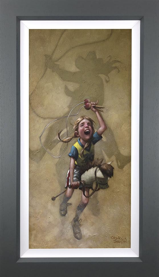 Just Rope, Throw & Brand 'em- Canvas Deluxeby Craig Davison
