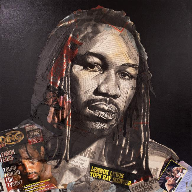 Knockout (Lennox Lewis) by Chess