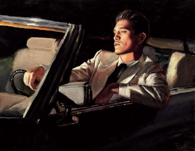 Late Drive II by Fabian Perez