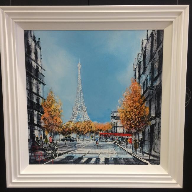 Le Tower Eiffel by Nigel Cooke