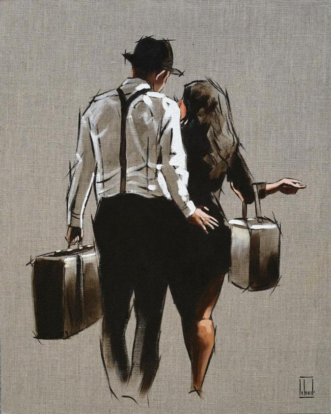 Lets Elope.. - Sketch by Richard Blunt
