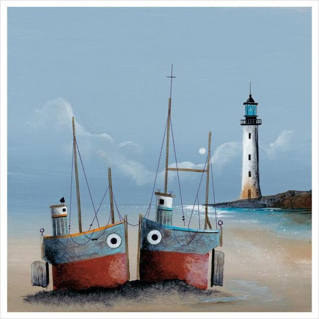 Lighthouse Companions by Gary Walton
