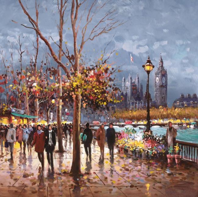 London by Lamplight by Henderson Cisz
