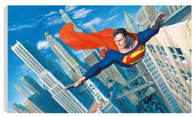 Look! Up In The Sky by Alex Ross
