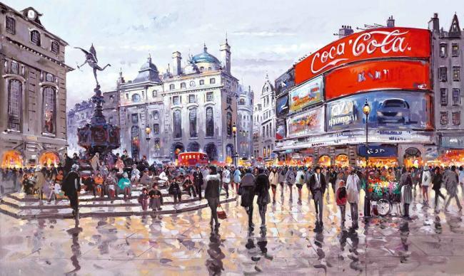 Love Affair with London by Henderson Cisz