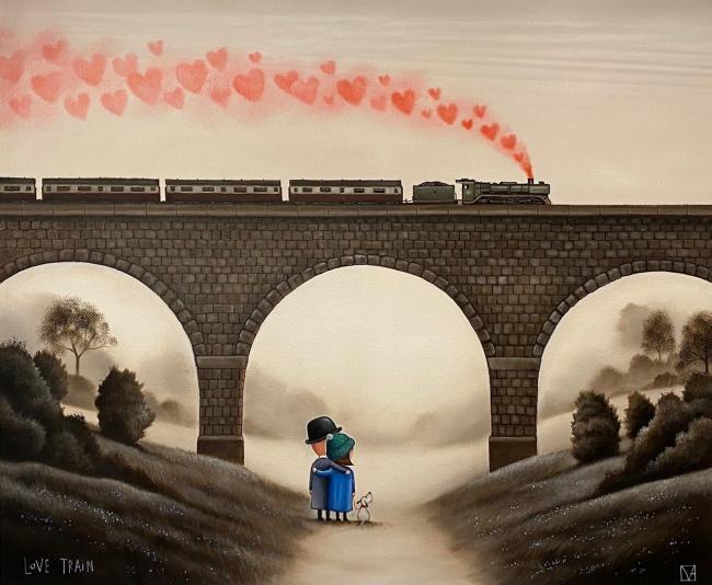 Love Train by Michael Abrams
