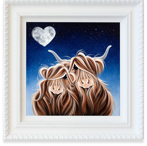 Love you to the Moo-n and Backby Jennifer Hogwood