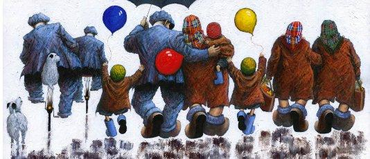 Mams, Dads, Aunties and Uncles - Large by Alexander Millar
