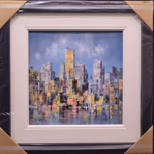 Manhattan Skyline I by Allan Morgan