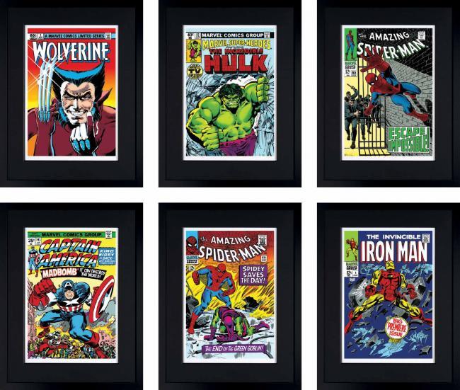 Marvel Super Heroes Portfolio by Stan Lee  Marvel Comics