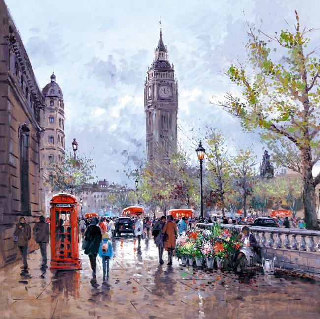Memories of London by Henderson Cisz