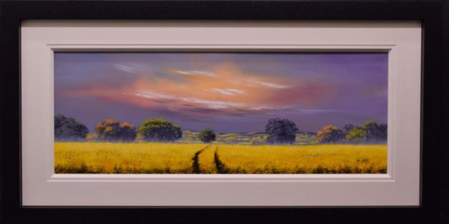 Misty Morning (40 x 15) by Allan Morgan