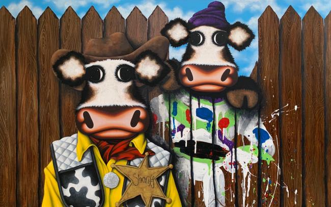 Moo Got a Friend in Me by Caroline Shotton