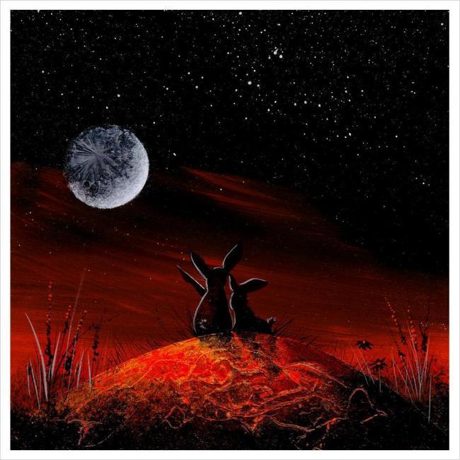 Moongazing by Gary Walton