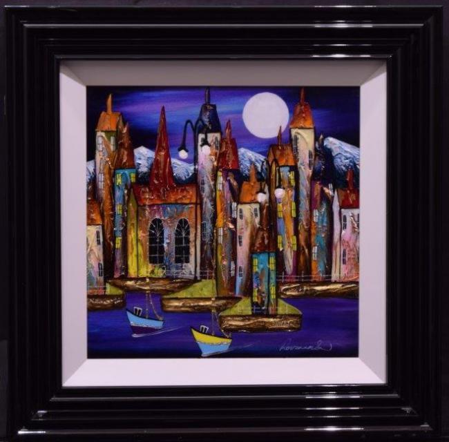 Moonlit Glow II by Rozanne Bell