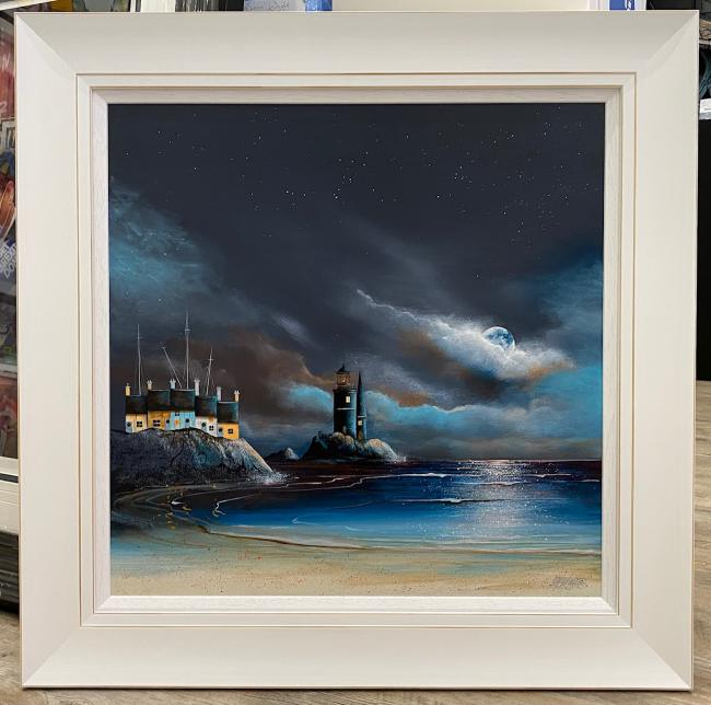 Moonlit Harbour I by Gary Walton