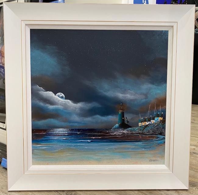 Moonlit Harbour II by Gary Walton