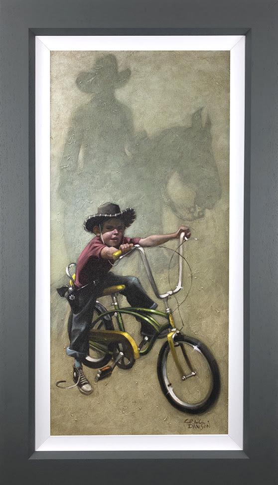 Move 'em on, head 'em up.. Rawhide- Canvas Deluxeby Craig Davison