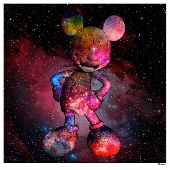 Nebula Mouse- Large by Monica Vincent