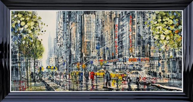 New York City Life by Nigel Cooke