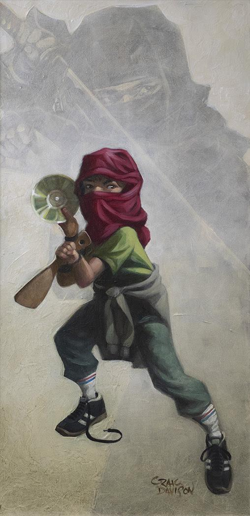 Ninja Star- Original by Craig Davison
