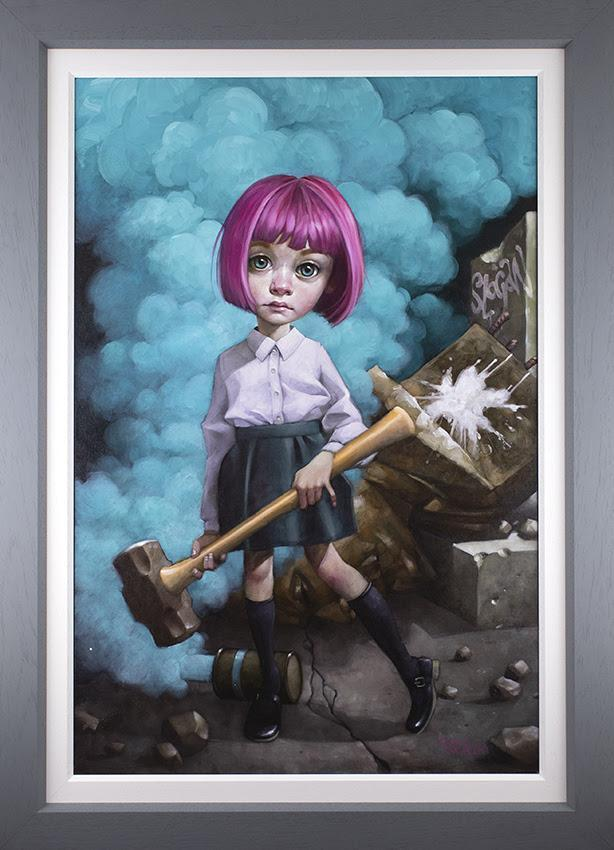Oh, i dont know about Art, but i know what i like!- Deluxe Canvasby Craig Davison