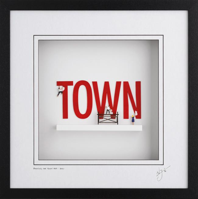 Painting The Town Red by Nic Joly