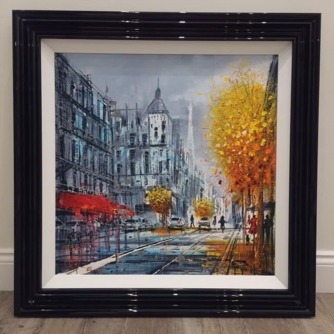 Paris Fall by Nigel Cooke