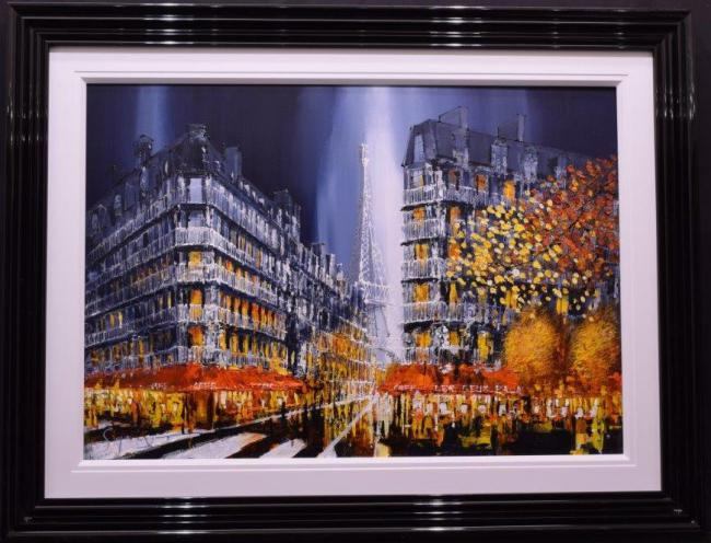 Paris Glow by Simon Wright