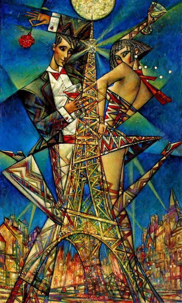 Paris Nights by Andrei Protsouk