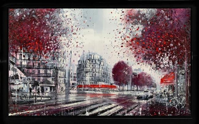 Paris Streets by Nigel Cooke