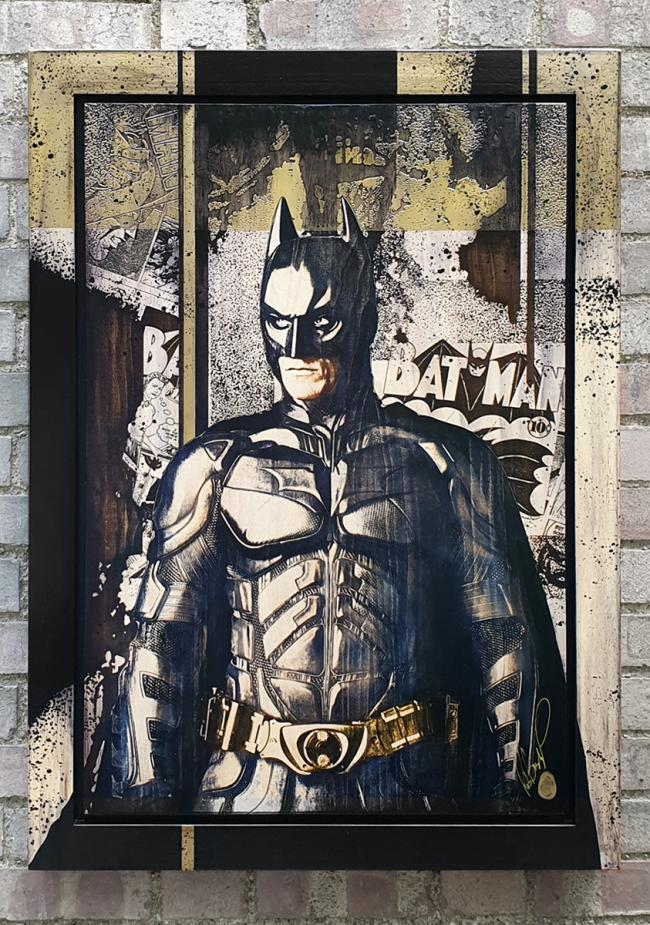 People Deserve More- Batman by Rob Bishop