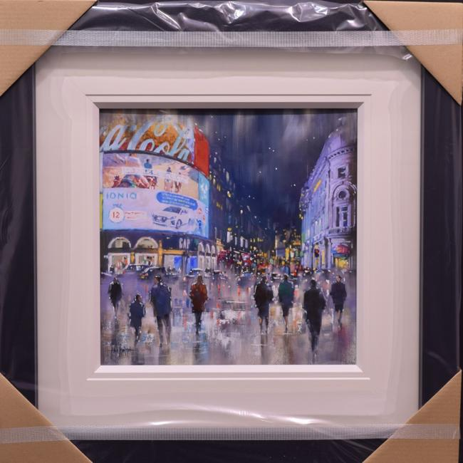 Piccadilly Circus by Allan Morgan