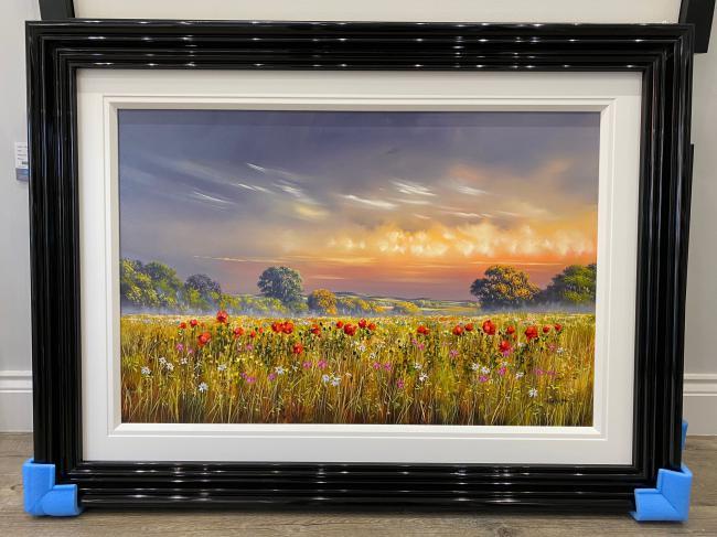 Poppies At Dusk by Allan Morgan