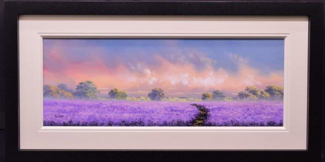 Purple Haze by Allan Morgan