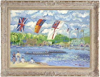 Regatta On The Thames (Raoul Dufy) by John Myatt