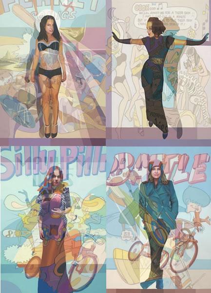 Revealed - A Personal Study (Set of 4 Prints) by Stuart McAlpine Miller