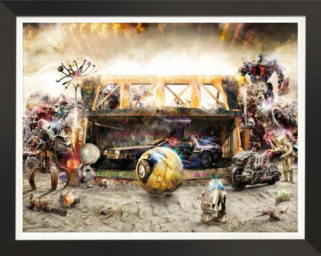 Rise Of The Machines 2 - Canvas by Mark Davies